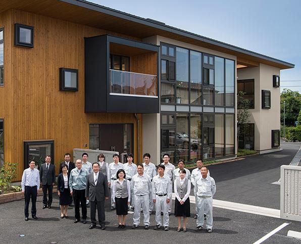 創業60年以上も埼玉県で誠実に携わってきた結果です。