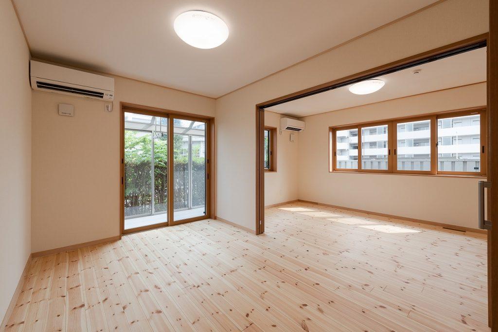 2世帯住宅への既存増築