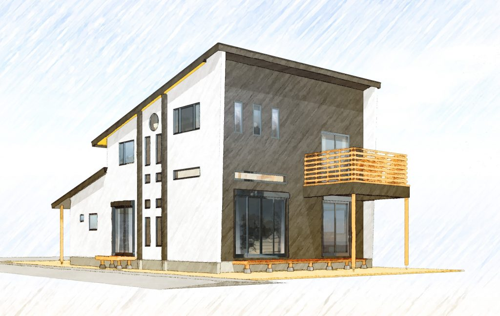 【要予約】伊勢崎市 高天井 スキップフロアーの家 構造見学会