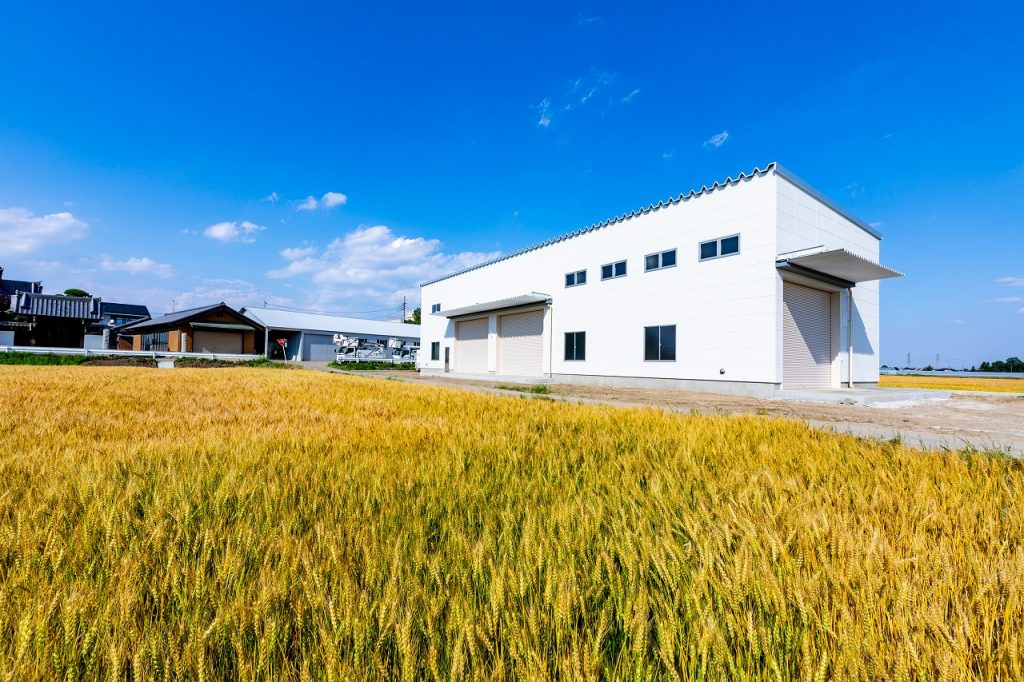 農業用作業所倉庫