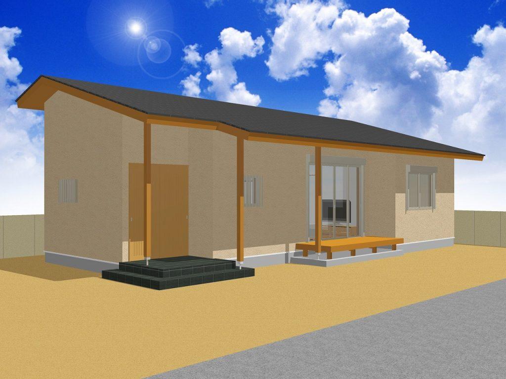 【要予約】大型パネルで短工期・高品質な平屋 完成見学会