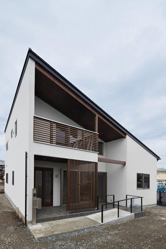 2階建て和モダン住宅