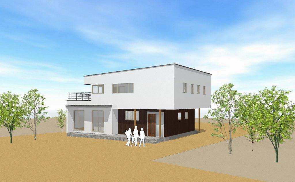【要予約】大型パネルで短工期・高品質な二世帯住宅 構造見学会