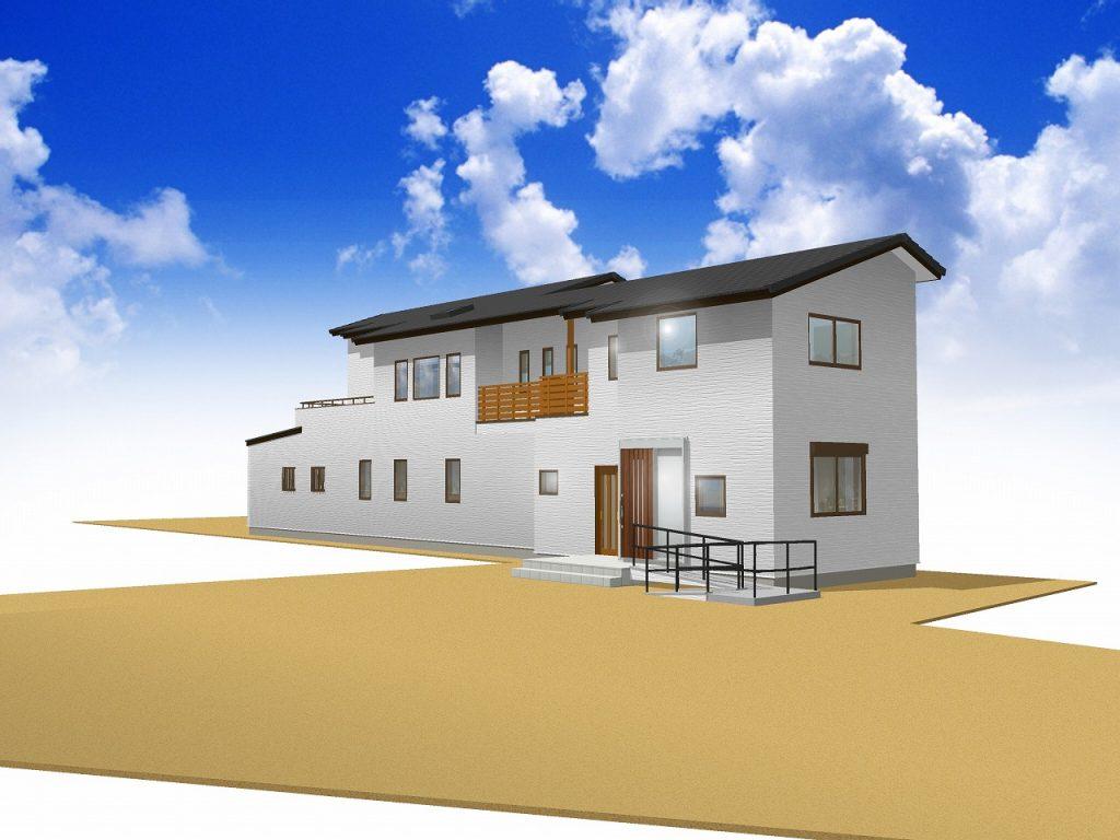 【 要予約 】木造大型パネルで短工期・高品質な事務所併用住宅