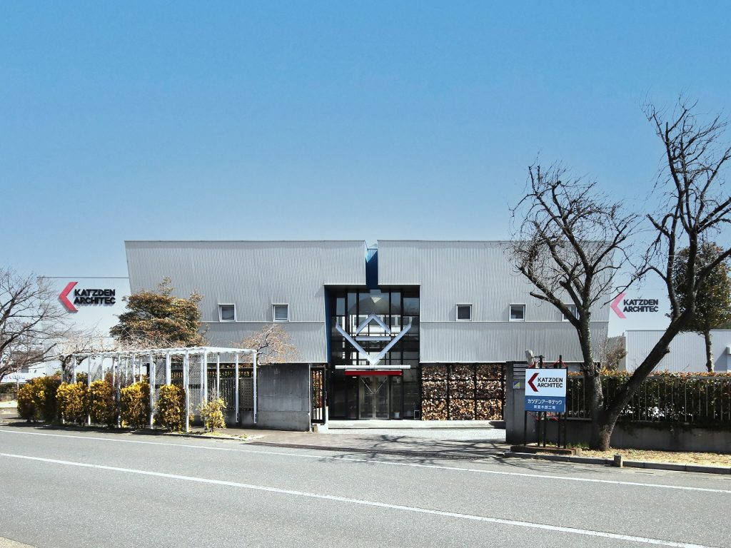 カツデンアーキテック(株)木部工場増築
